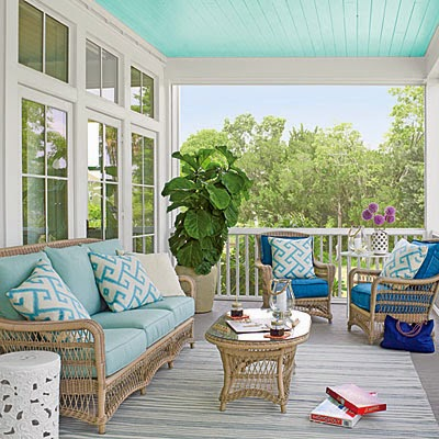 Coastal Living inspiration: Beachy porches and patios