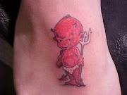 Baby Devil Tattoos (red devil)