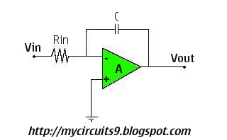 op amp integrator calculator