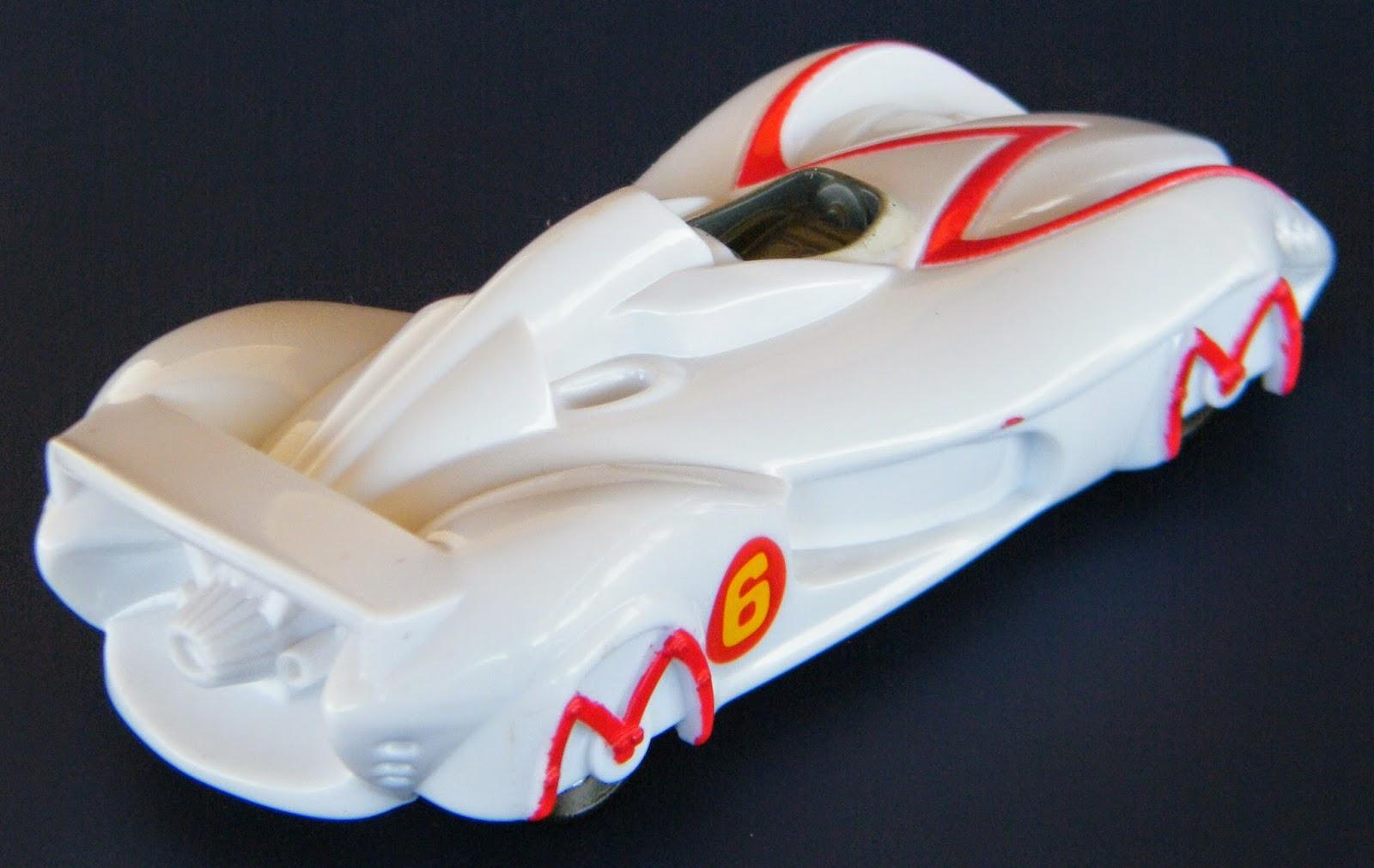 ... McDonald's 2008 'Speed Racer' Movie Cars - No. 3 Speed Racer's Mach 6