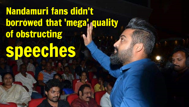 Nandamuri fans disciplined than Mega Fans ?