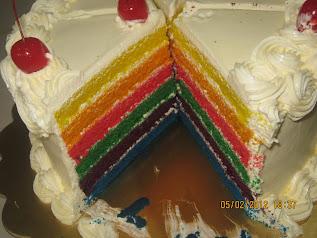 RAINBOW CAKE - RM90