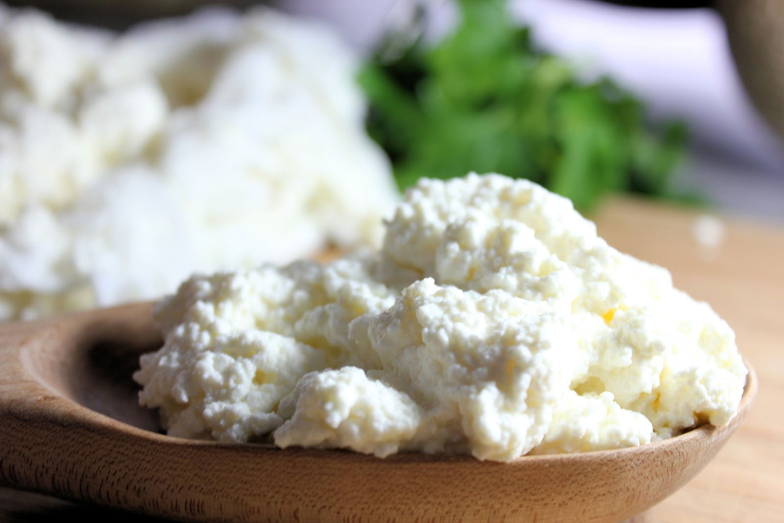 Homemade Ricotta Cheese Recipe — Dishmaps