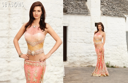 Latest-Fish-Tail-Lehenga-Sarees