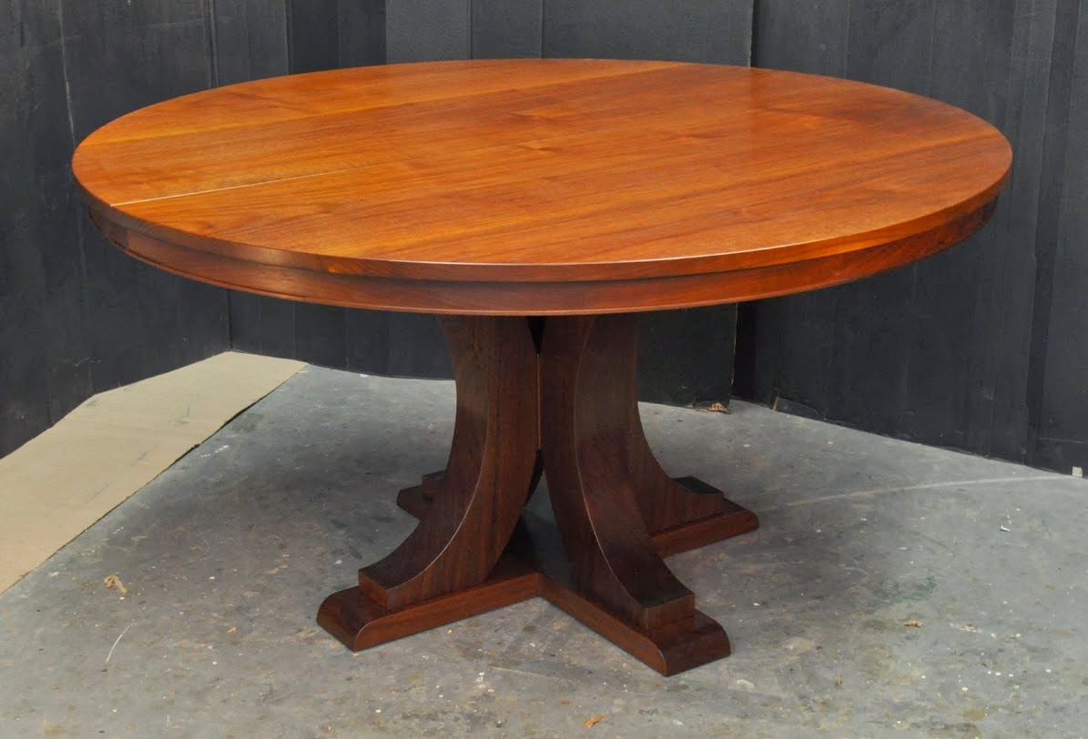Furniture A Woodworkers Photo Journal Another Round Dining Table
