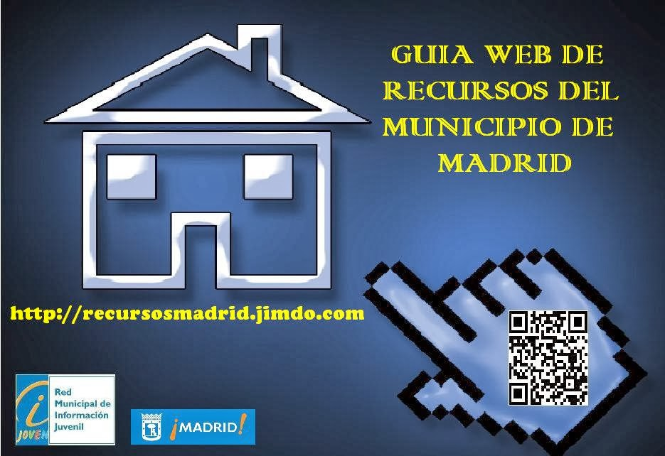 Guía web de recursos del Municipio de Madrid, elaborada por el Servicio de Información Juvenil