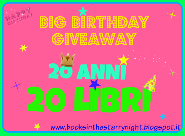 Giveaway di compleanno
