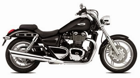 foto & gambar motor gede cruisher Triumph