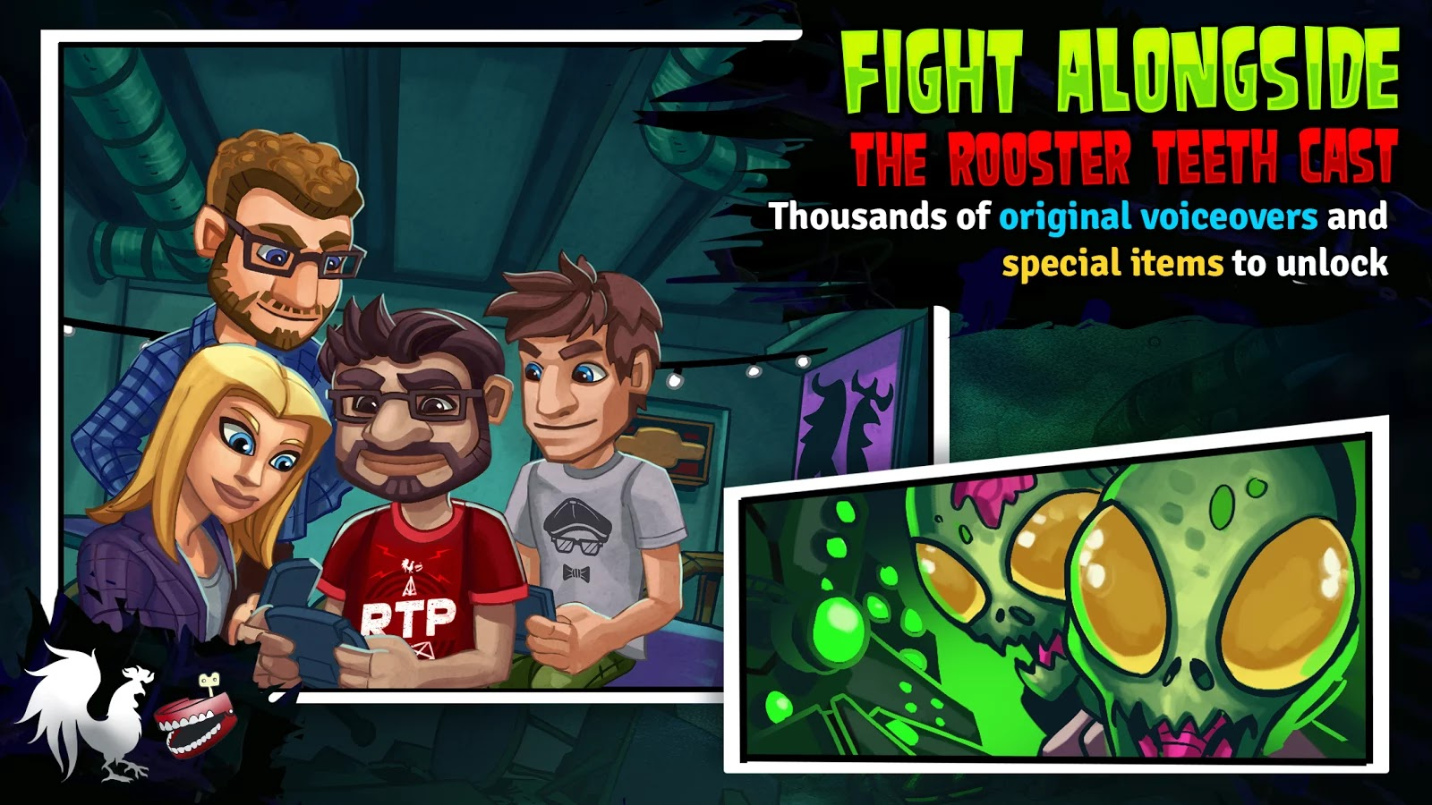 Rooster Teeth vs. Zombiens v1.0.1 Mod [Unlimited Money]