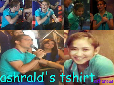 "Sarah Geronimo and Gerald Anderson in their ""Couple Shirt (?) (14"