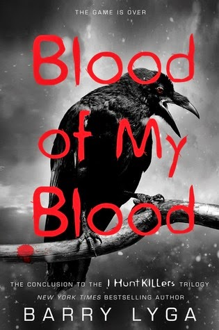 http://www.amazon.com/Blood-My-Hunt-Killers/dp/0316198706/ref=sr_1_1_twi_2?ie=UTF8&qid=1418679317&sr=8-1&keywords=barry+lyga