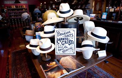El sombrero Panamá.