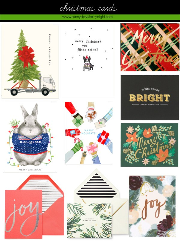 pretty christmas cards