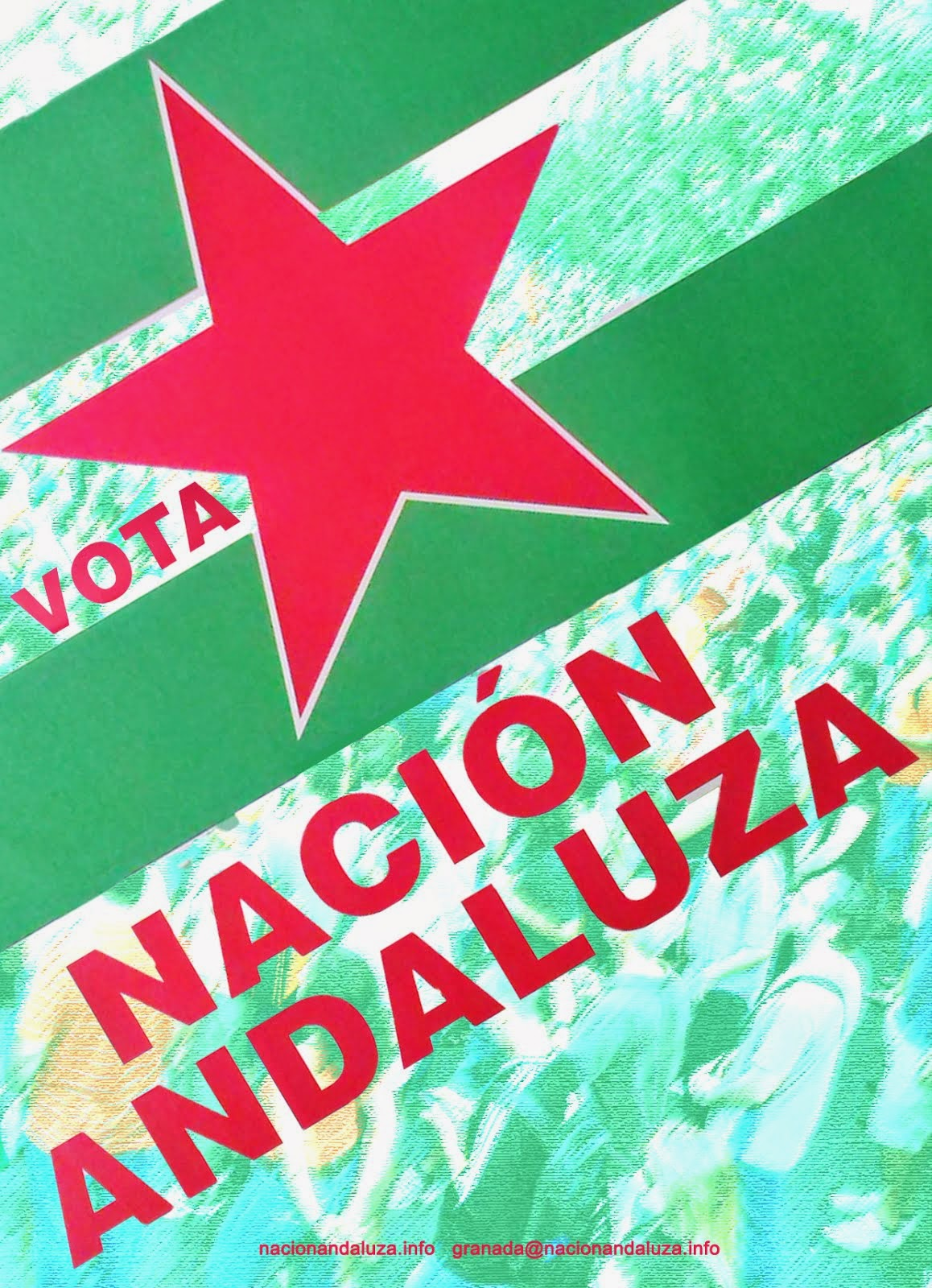 Dale donde les duele. Vota Nación Andaluza