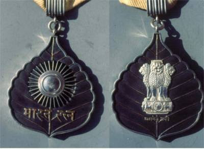 Who receives Bharat Ratna Award