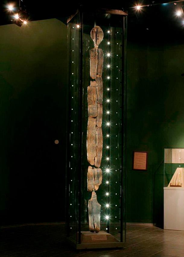 Escultura dos veces mas antigua que las piramides