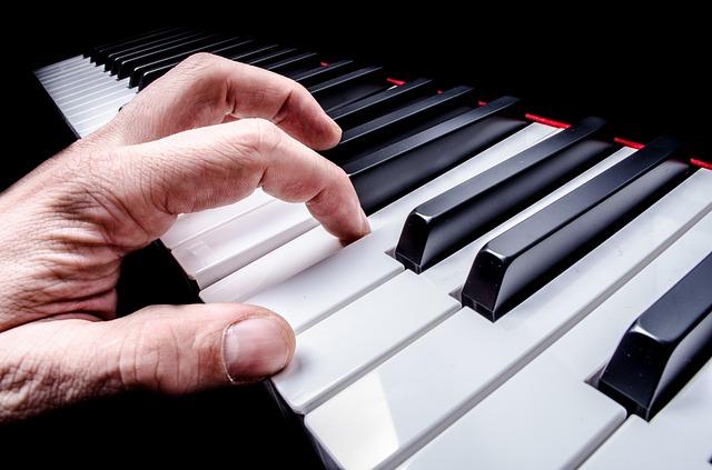 piano, pianista, música