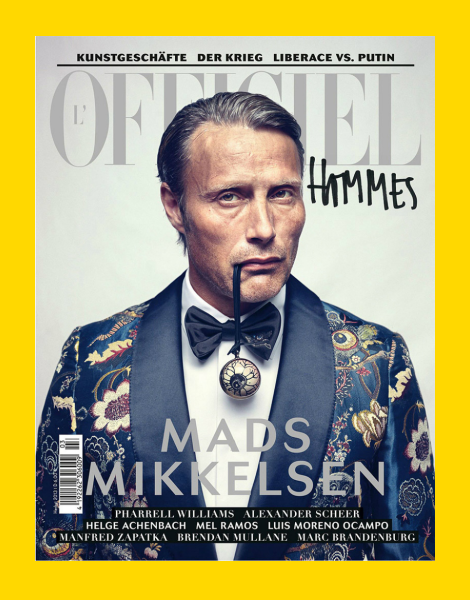 Mads Mikkelsen covers L'Officiel Hommes Germany Fall 2013