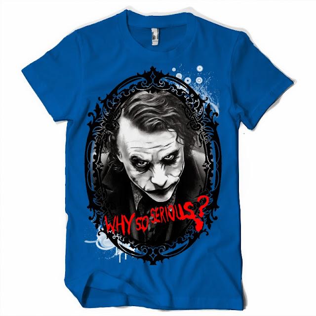 joker tshirt why so serious