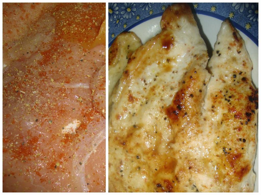 pollo con pimentón