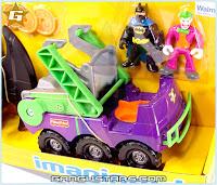 Fisher-Price Imaginext DC Super Friends Joker Hauler Riddler Batman アメコミ バットマン トランスフォーマー