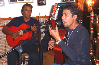 Montpellier Flamenco : Jimmy Espinas et père
