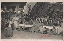 Feria de Ceuta en 1951. Caseta Recreativa La Peña