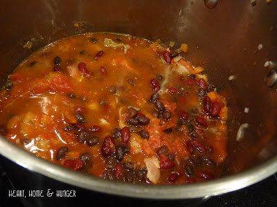 recipe spicy 2 bean soup
