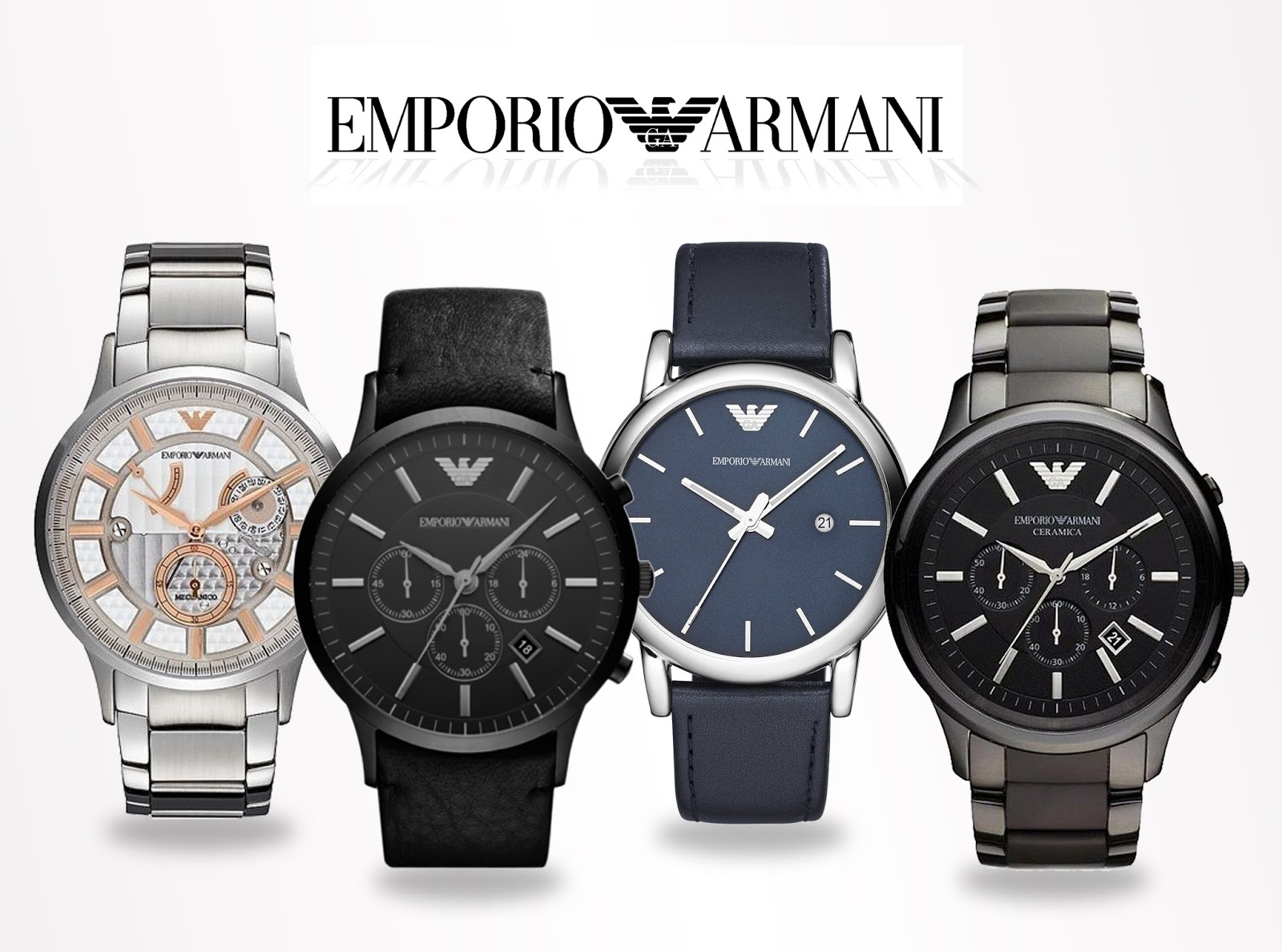 montres et plus devient dornier les nouvelles montres emporio armani pour homme sont arriv es. Black Bedroom Furniture Sets. Home Design Ideas
