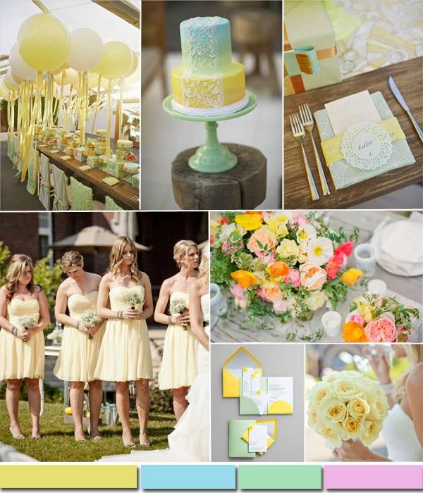 цветове 2015 за сватба