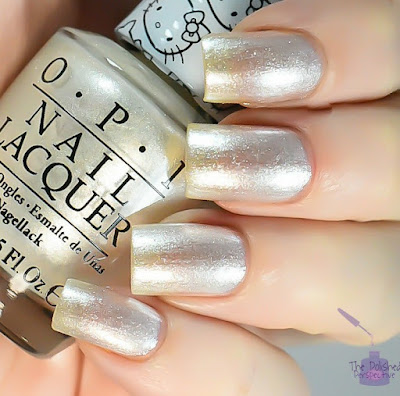 OPI Kitty White swatch