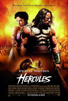 Hercules 2014 the rock movie poster