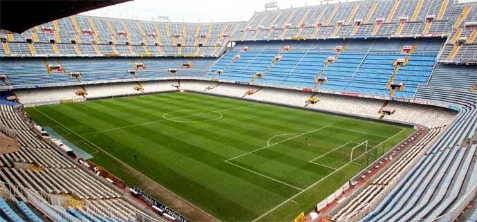 La final de la copa del rey 2014 se disputara en el estadio de Mestalla en Valencia