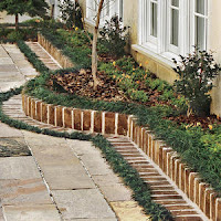 Brick Border Edging
