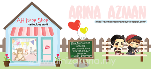 Tempahan Header - Arina Azman (AH Kpop Shop)