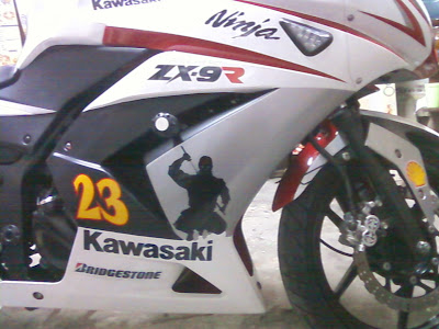 SURABAYA CUTTING STICKER NINJA 250) STICKER (ninja 250 cutting sticker