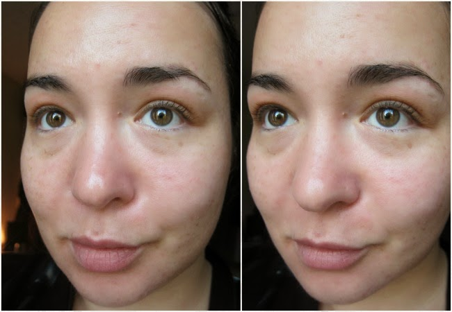 Clinique Universal Primer before and after