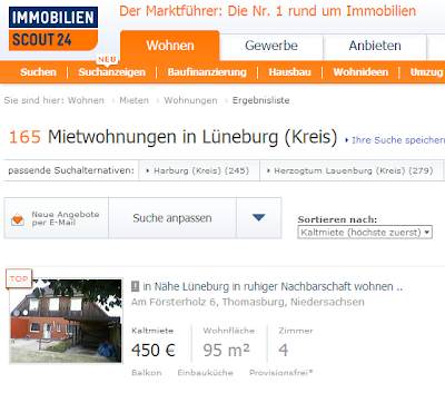 Searching for Apartments in Germany Online with Immobilien Scout 24
