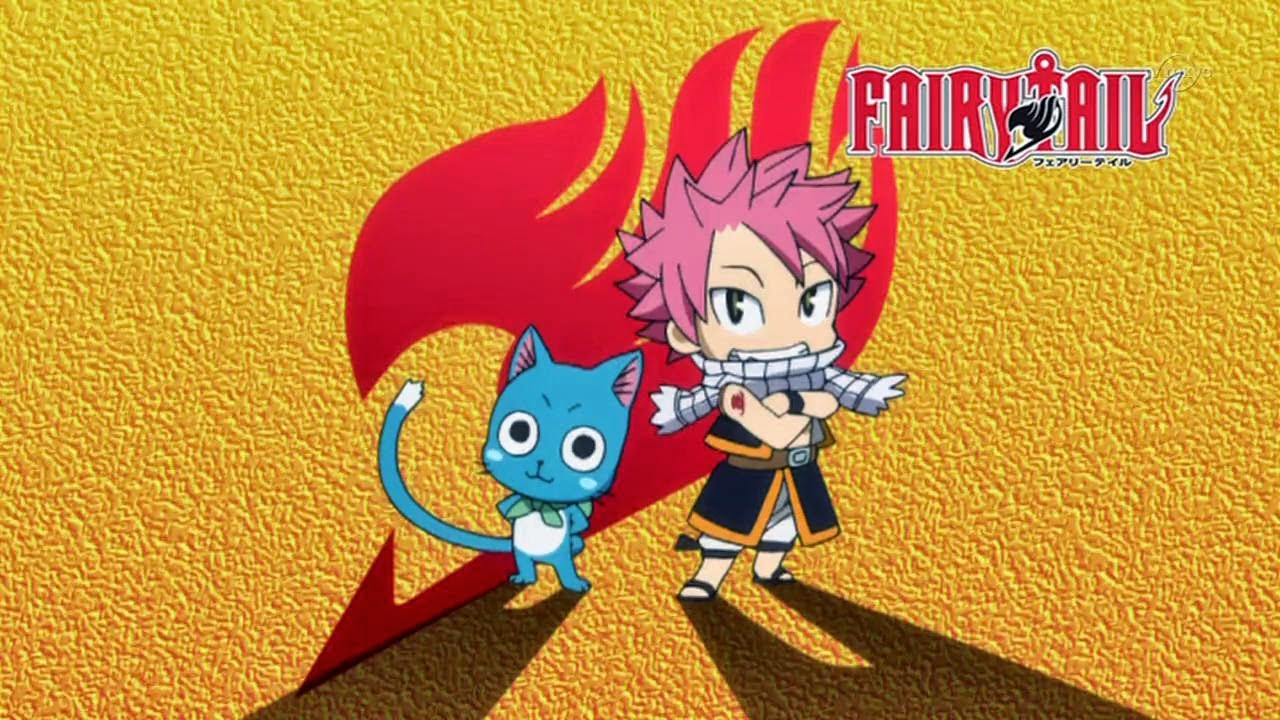 Fairy Tail Wallpaper Natsu And Happy
