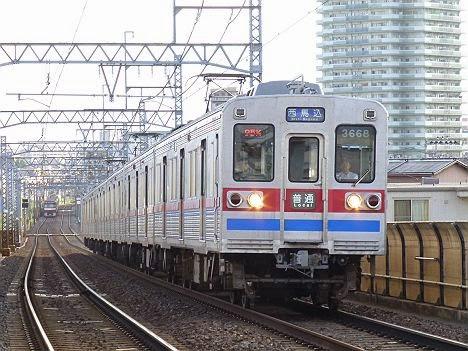 エアポート快速 羽田空港行き3500形