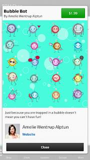 Penampakan Sticker BBM Android