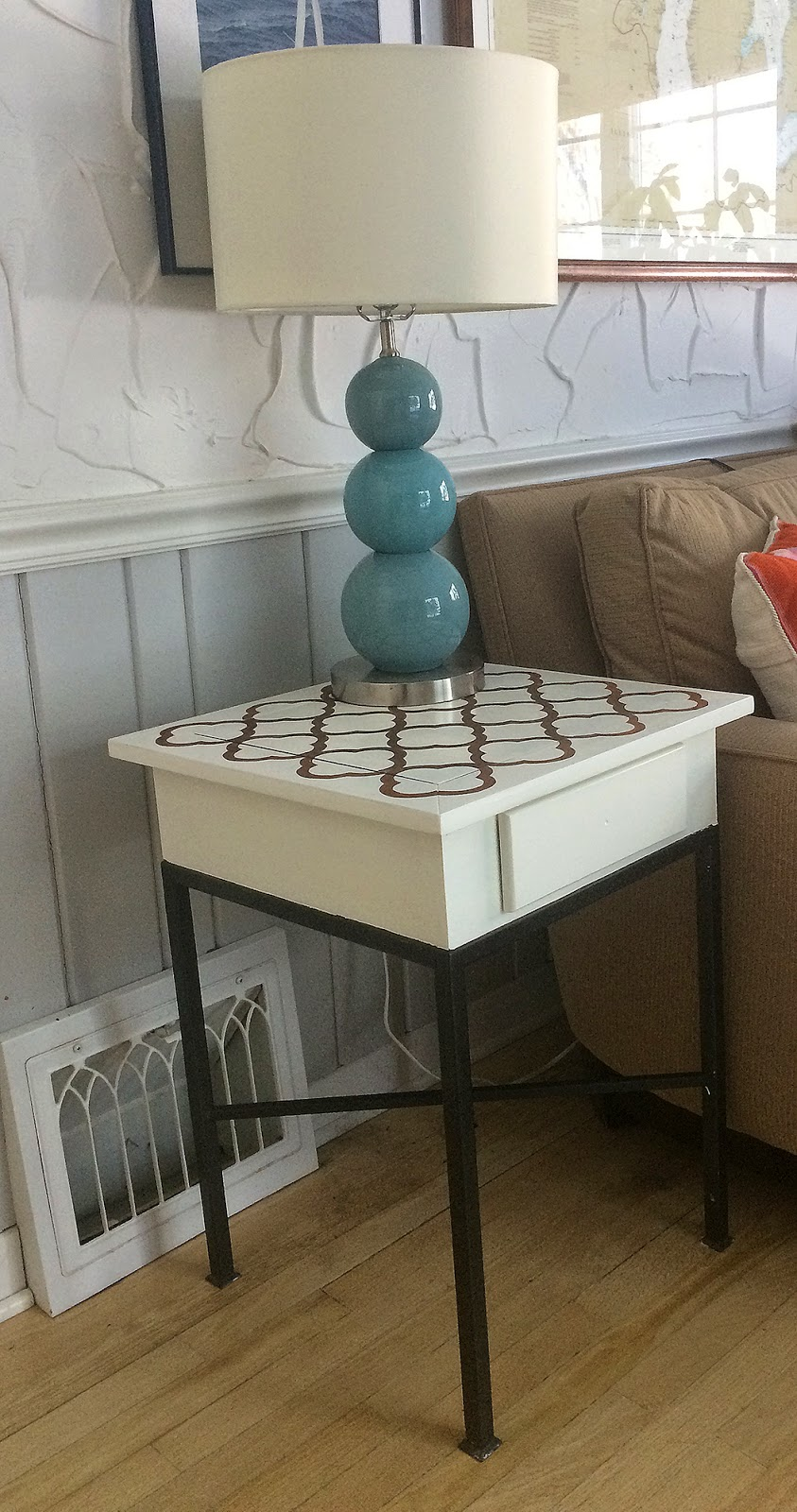 DIY paint/stain table