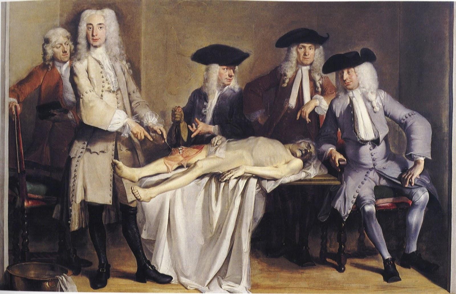 la insoportable liviandad del ser: Lección de Anatomía