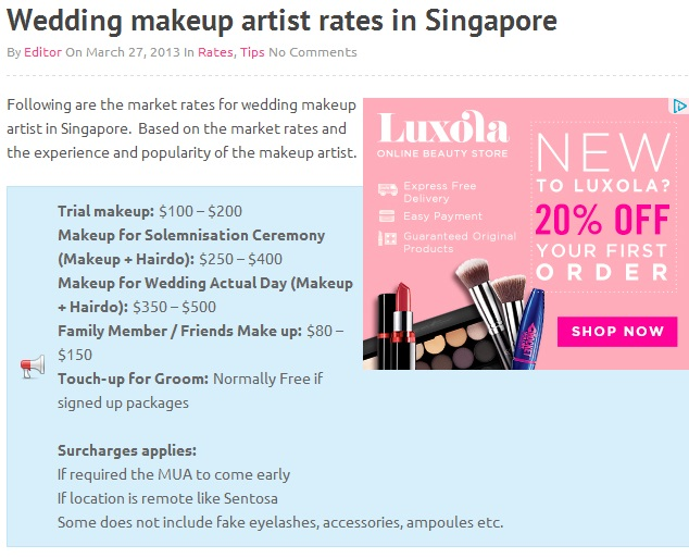 http://www.weddingmakeupartist.sg/wedding-makeup-artist-rates-in-singapore/