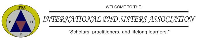 International PhD Sisters Association