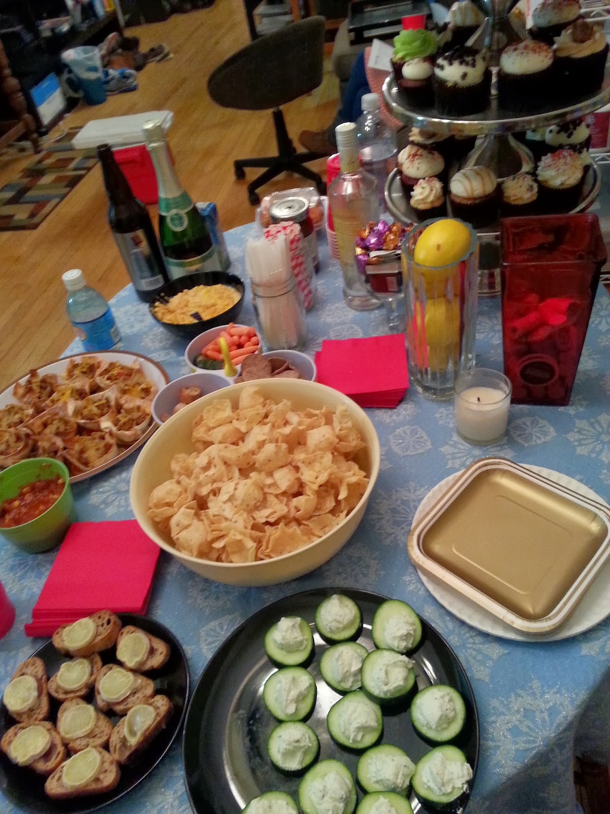OscarsParty_food1