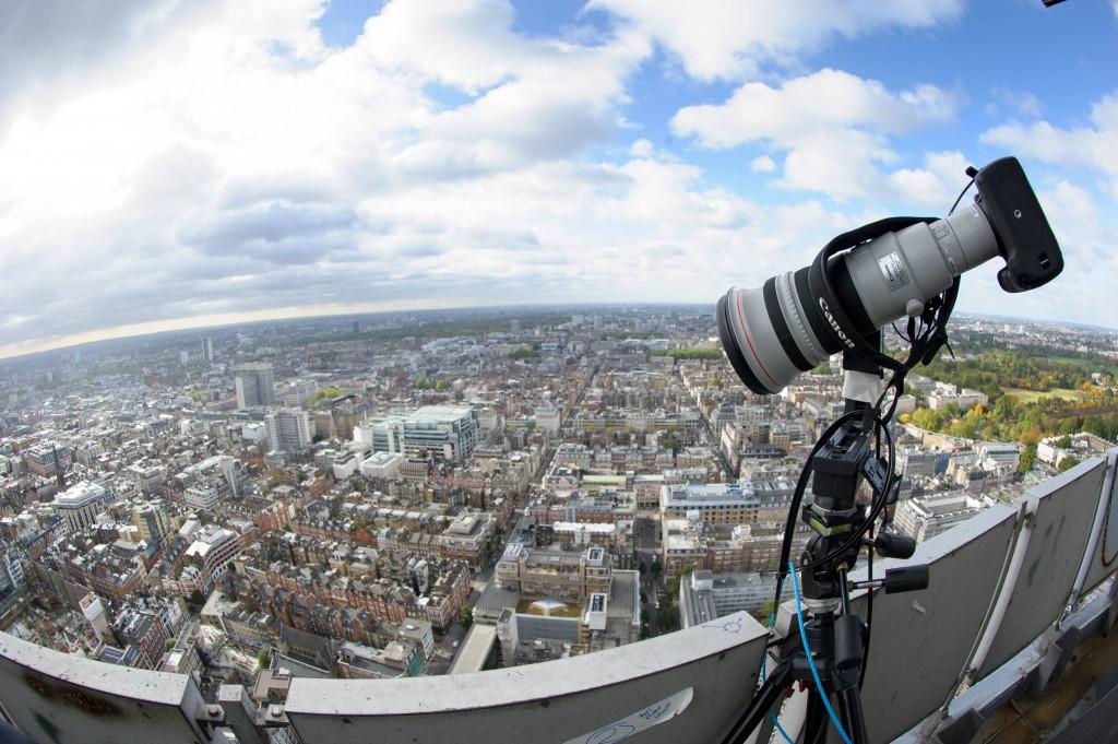 صورة بانورامية رائعة لمدينة لندن Panorama of London