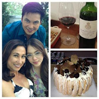 Julia Montes with Gabby Concepcion and Cherie Gil