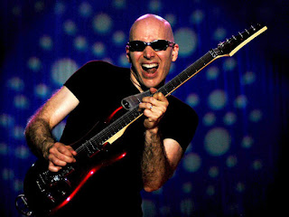 Joe Satriani, Guru Steve Vai dan Kirk Hammett