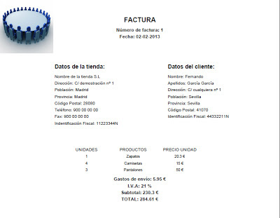facturas pdf php